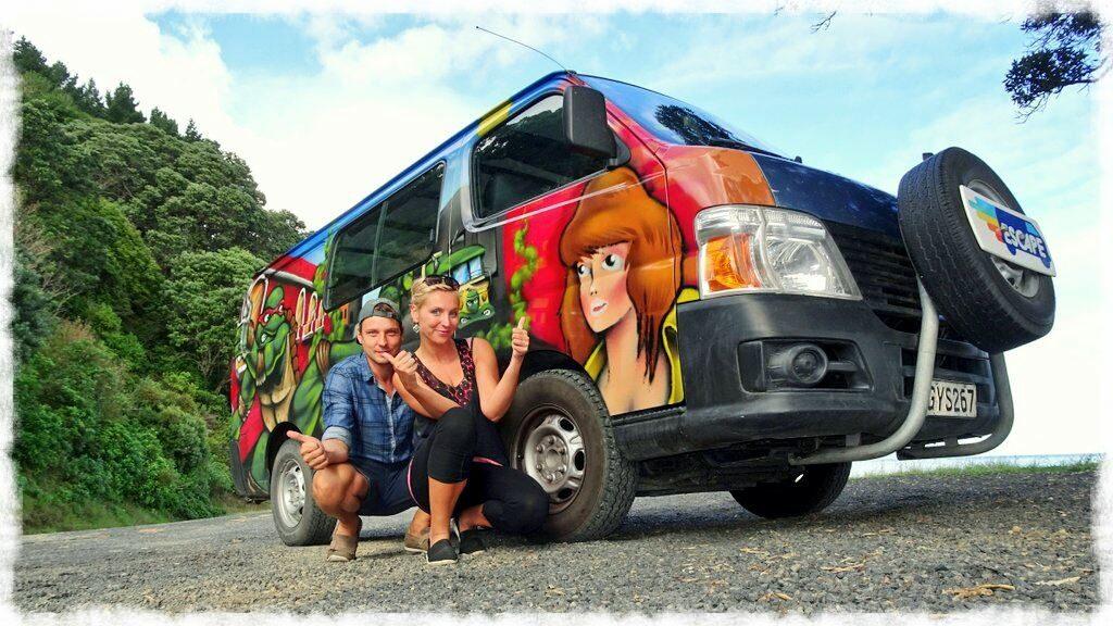 new-zealand-roadtrip-tauranga -cathedral-cove-coromandel-escape-camper-van