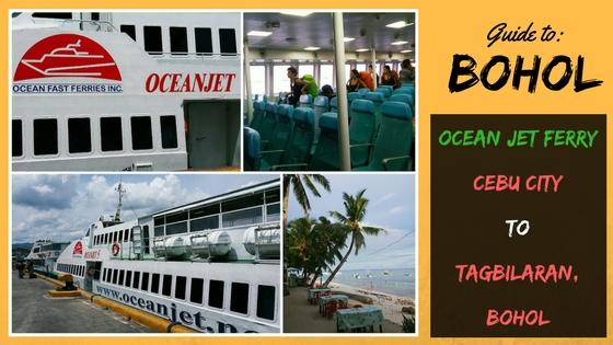 Ocean Jet Ferry from Cebu City to Tagbilaran Bohol