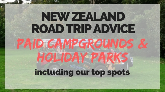 Paid Campgrounds and Holiday Parks in New Zealand