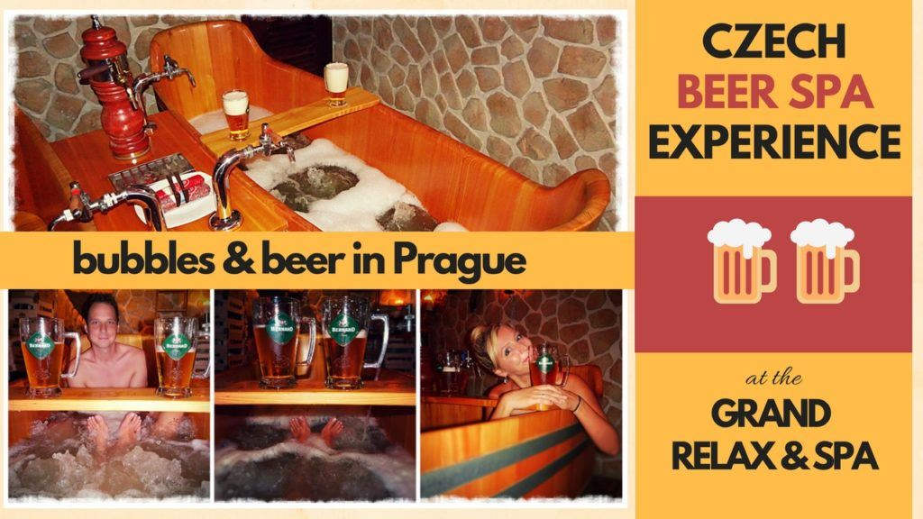 Prague Czech Beer Spa Experience at the Grand Relax and Spa in Prague