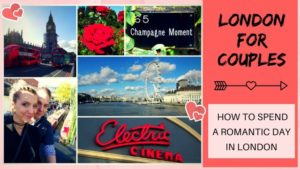 London for couples_romantic anniversary ideas London