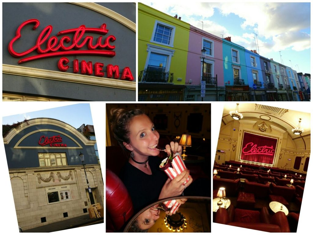 london for couples electric cinema notting hill