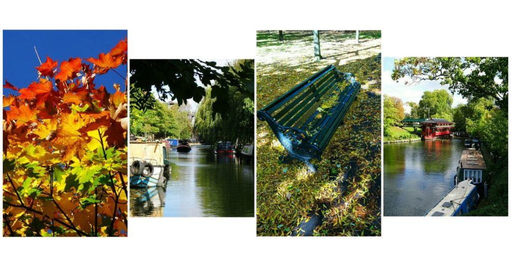london for couples regents park canal