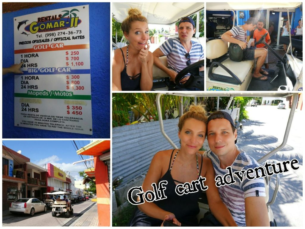 day-trip-isla-mujeres-golf-cart-rental