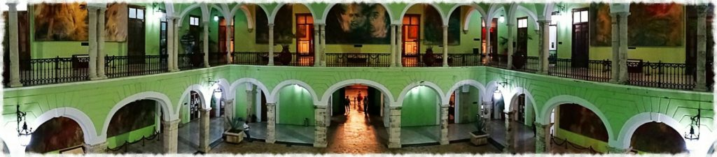 best things to do in merida palace of government panorama