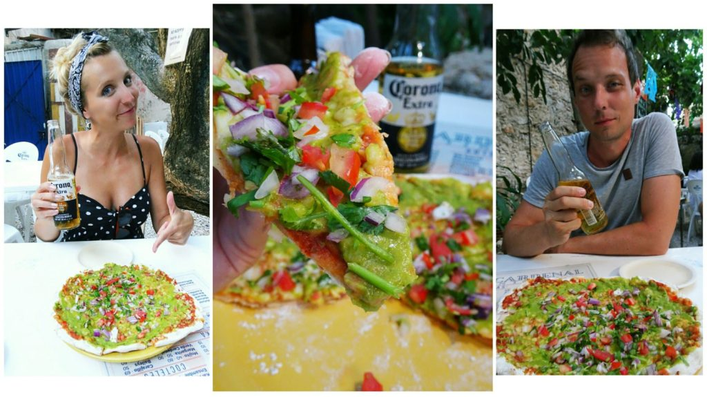 best things to do in merida quacamole pizza
