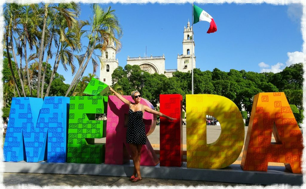 best things to do in merida sign plaza grande yucatan
