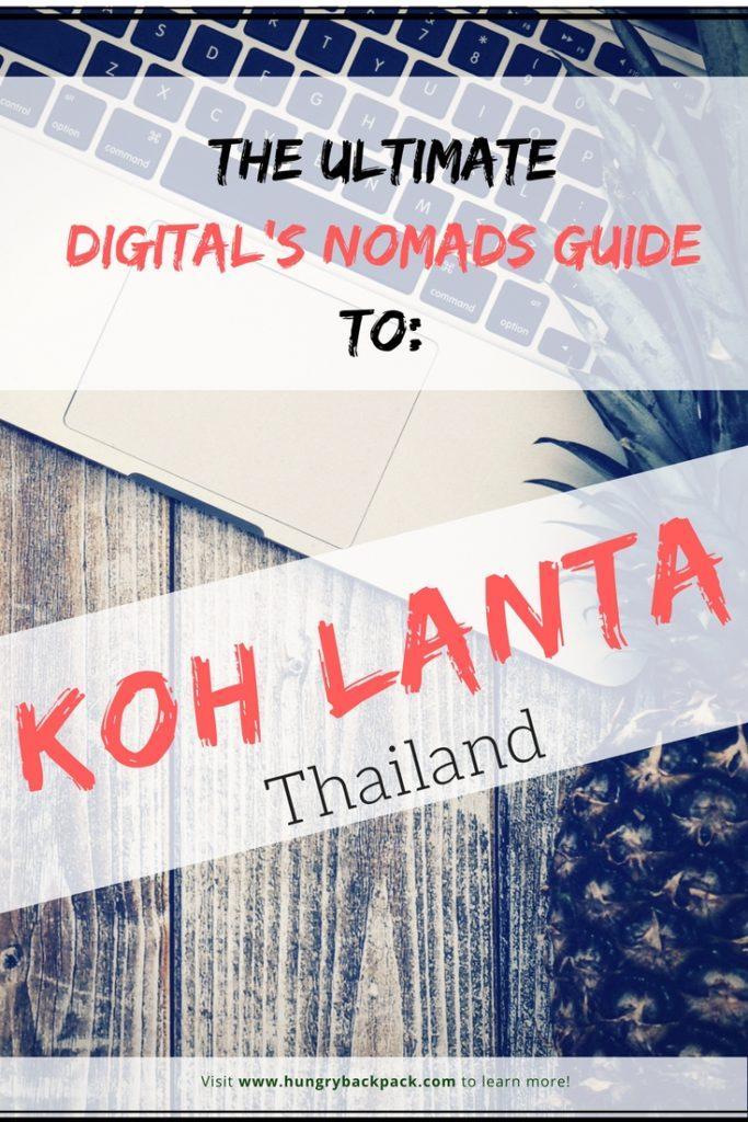 Digital Nomad Guide Koh Lanta Thailand