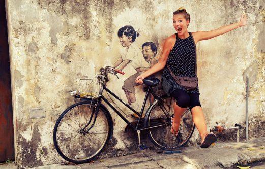 Guide Street Art Georgetown Penang