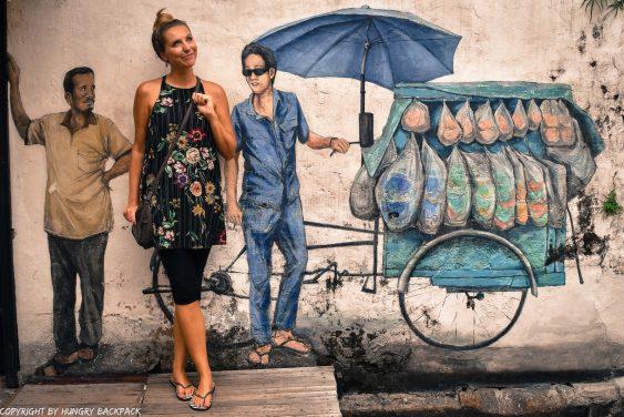 street food hawker_mural Penang