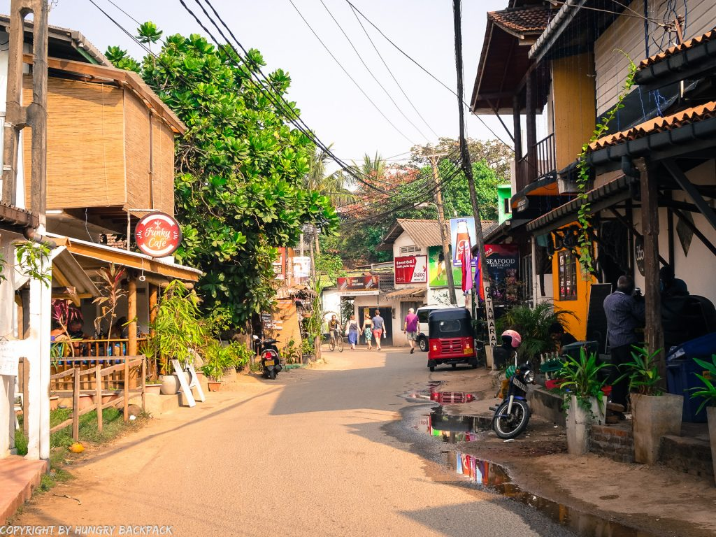 Sri Lanka Trip_Unawatuna town