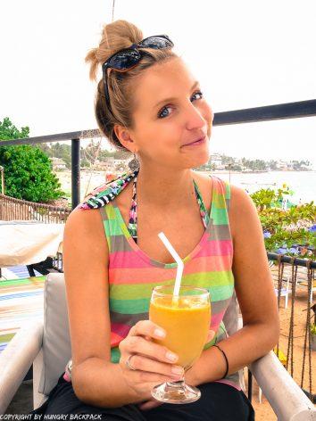 fresh fruit juice for breakfast