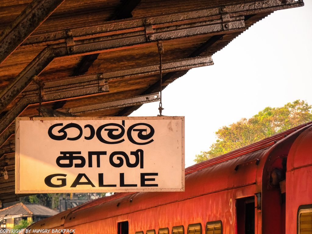 Sri Lanka Trip_train colombo to galle_galle station