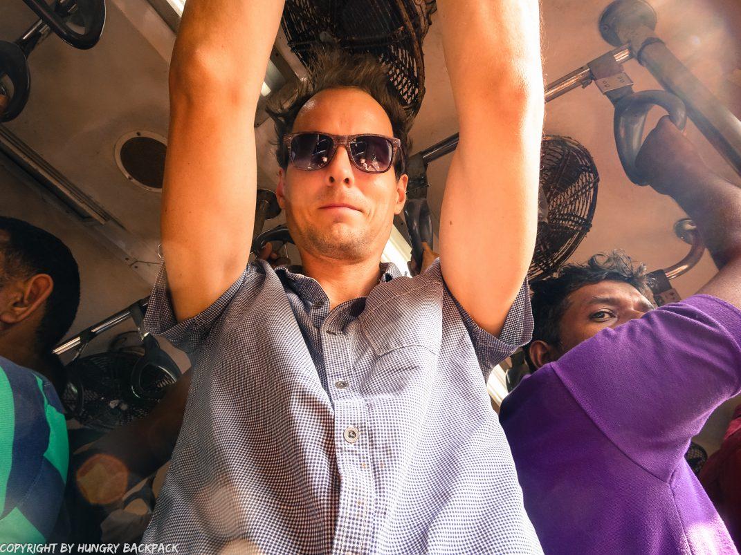 Sri Lanka Trip_train journey_overcrowded