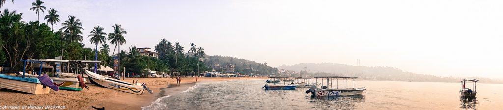 Sri Lanka Trip_unawatuna beach panorama