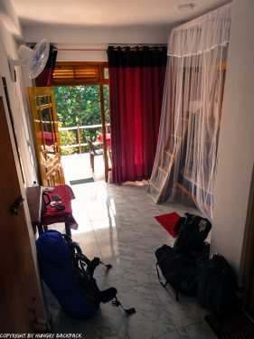Ella accommodation_Restful Homestay_room with terrace