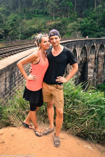 Ella hike_nine arch bridge_couple shot
