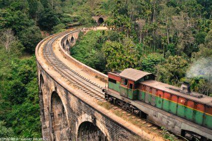 Ella hike_nine arch bridge_train crossing
