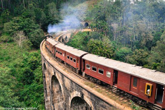 Ella hike_nine arch bridge_train crossing2