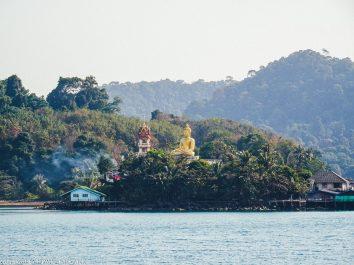 Bangkok to Ko Kut_Koh Kood ferry pier arrival