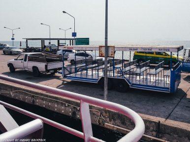 Bangkok to Ko Kut_boonsiri ferry shuttle on pier