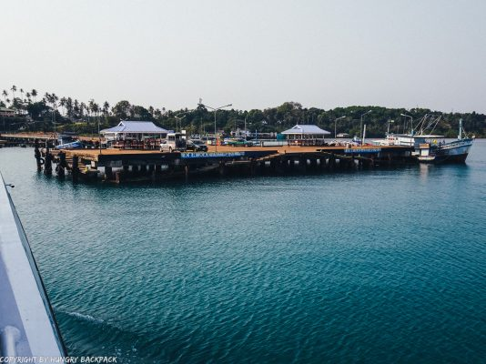 Bangkok to Ko Kut_boonsiri ferry stop Koh Mak