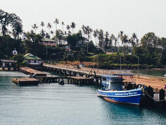 Bangkok to Ko Kut_boonsiri ferry stop Koh Mak pier