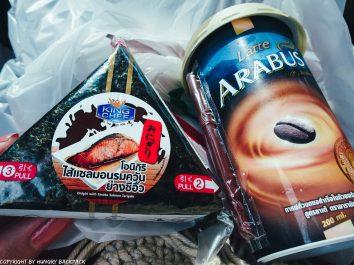 Bangkok to Ko Kut_bus snacks from Spar Shop