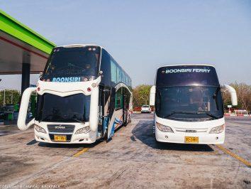 Bangkok to Ko Kut_bus stop on way to Koh Kood