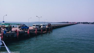 Boonsiri Ferry Pier in Trat