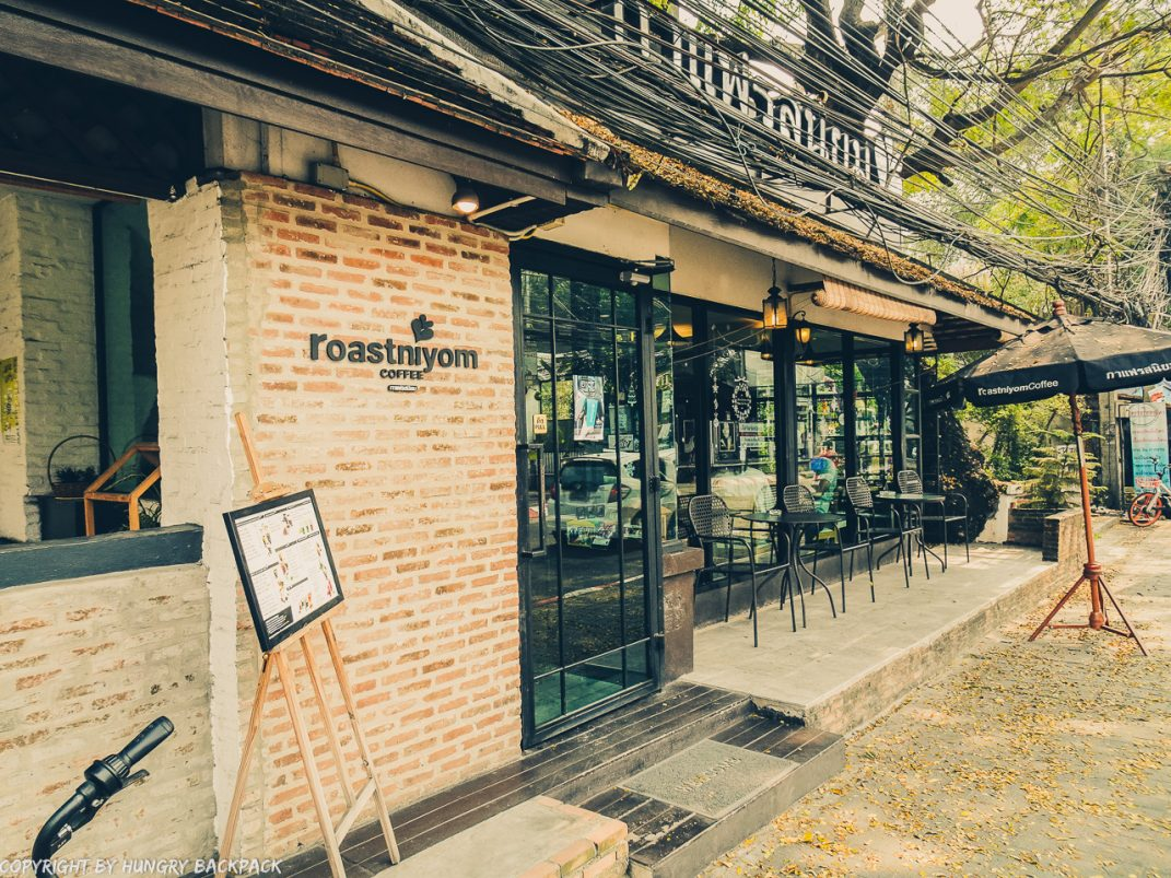 Cafes to work from_chiang mai_Nimman_Roastnniyom outside