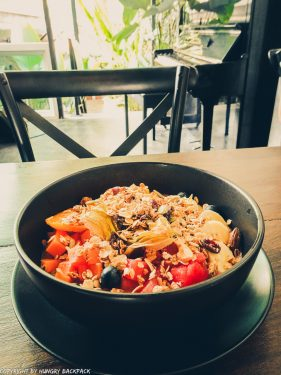 Cafes to work from_chiang mai_Santitham_Passion Project_smoothie bowl2