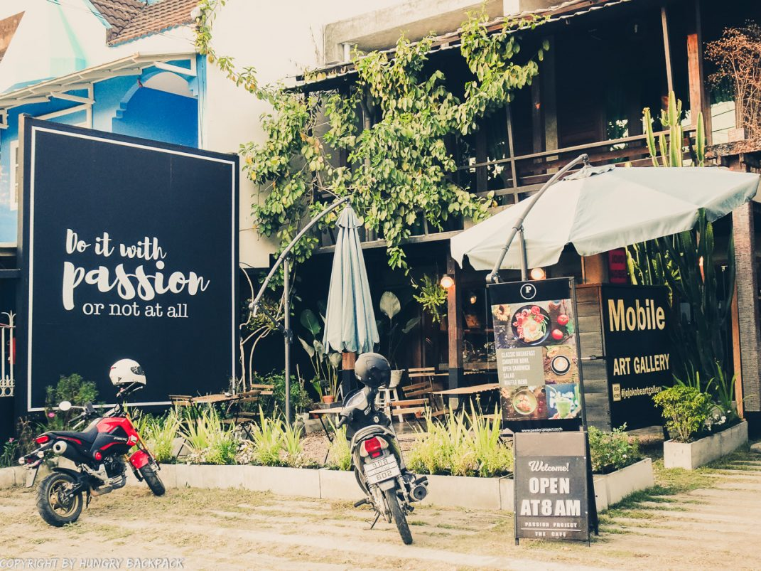 Cafes to work in Chiang Mai_Santitham_Passion Project outside