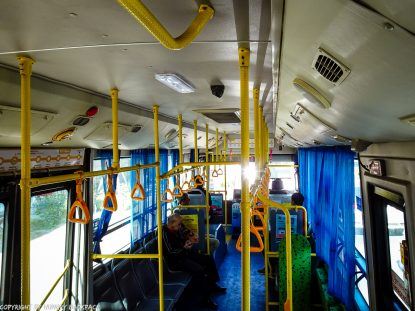 Chiang Mai_inside public Bus to Airport