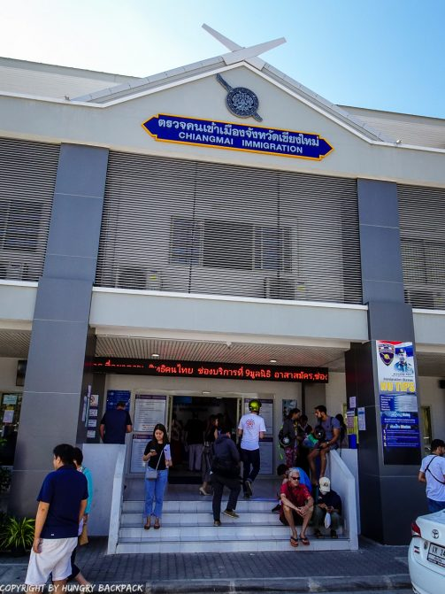 Extend Tourist Visa_Immigration office waiting outside