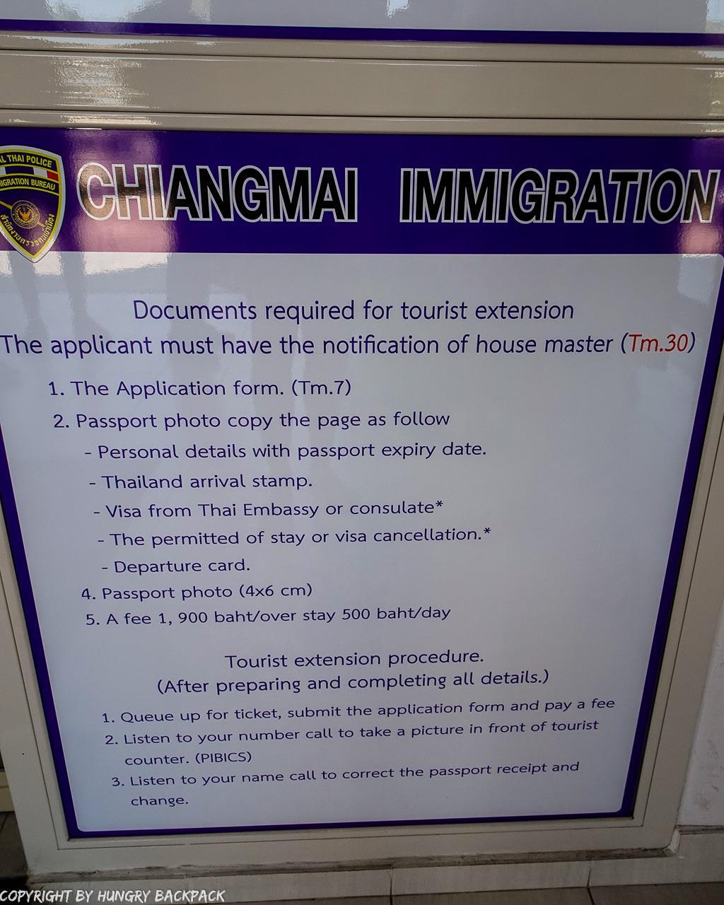 Extend Tourist Visa_procedure of TM7 visa extension process