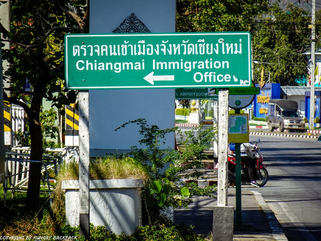 Extend Tourist Visa_walk to Immigration Office_sign