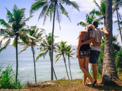 Mirissa_coconut hill_Berit and Martin