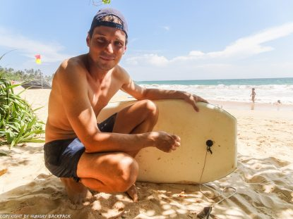 Things to do Mirissa_mirissa beach body boarding Martin