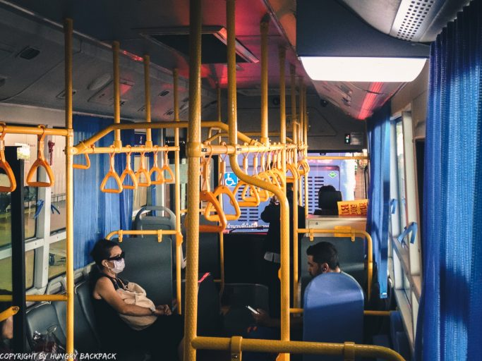 Don Mueang Airport Bus inside