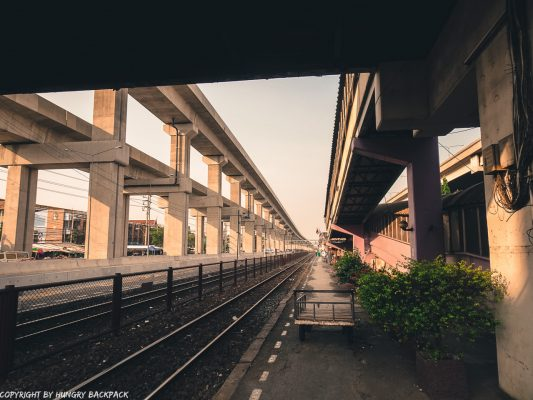 Don Mueang Airport to Bangkok City by train_Don Mueang Railway station
