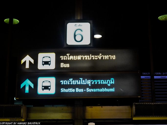 Don Mueang Airport to Bangkok City_Gate 6 to Airport Bus