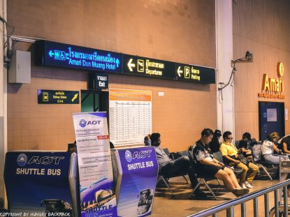 Don Mueang to Bangkok City by train_Exit Railway Station Don Mueang Airport