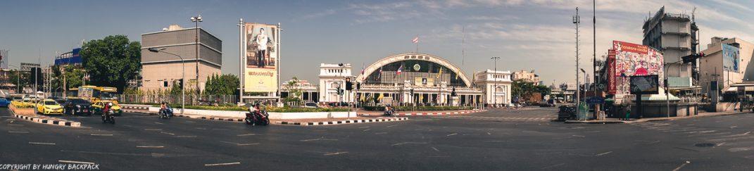 Don Mueang to Bangkok City by train_Hua Lamphong station