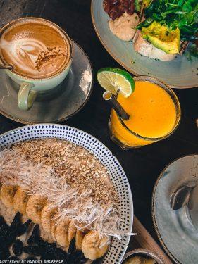 work-friendly cafes Canggu_Cinta Cafe_breakfast set