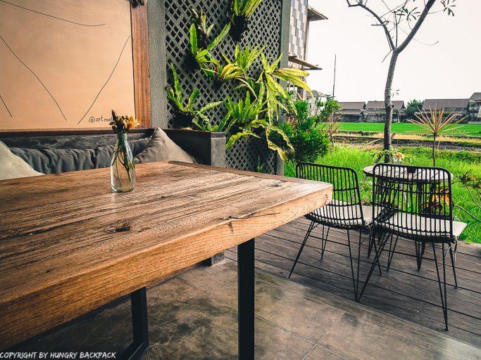 work-friendly cafes Canggu_Cinta Cafe_view
