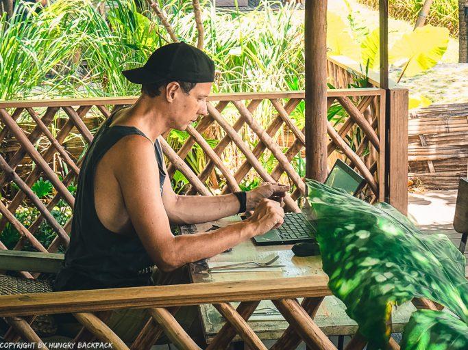 work-friendly cafes Canggu_Nook_digital nomad