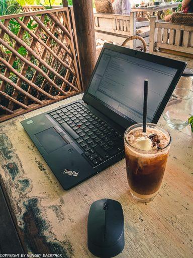 work-friendly cafes Canggu_Nook