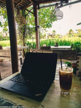work-friendly cafes Canggu_Nook_working