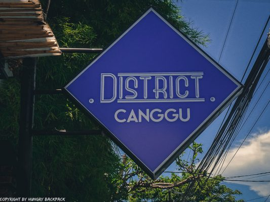 work-friendly cafes Canggu_disctrict cafe_sign